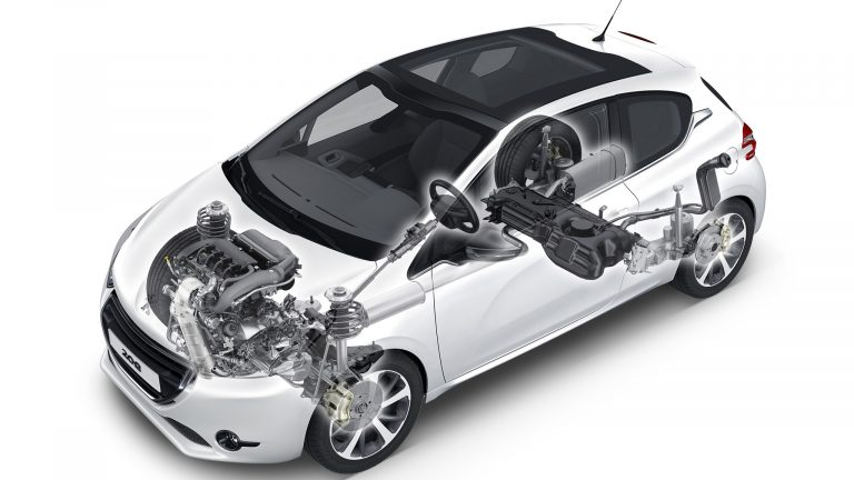 Foto del motore di Peugeot 208 208 Active PureTech 100 S/S