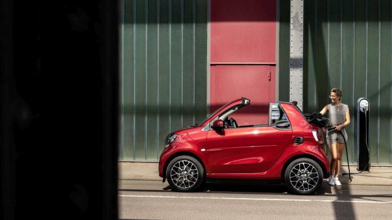 auto cabrio economiche: smart fortwo cabrio