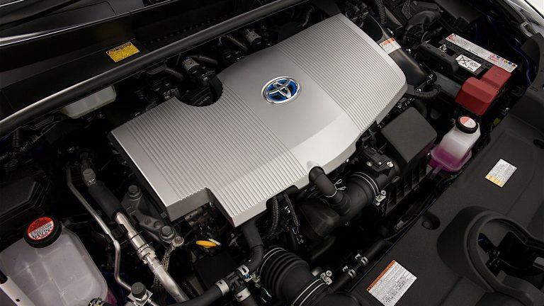 Foto del motore di Toyota Prius Plug-In Hybrid