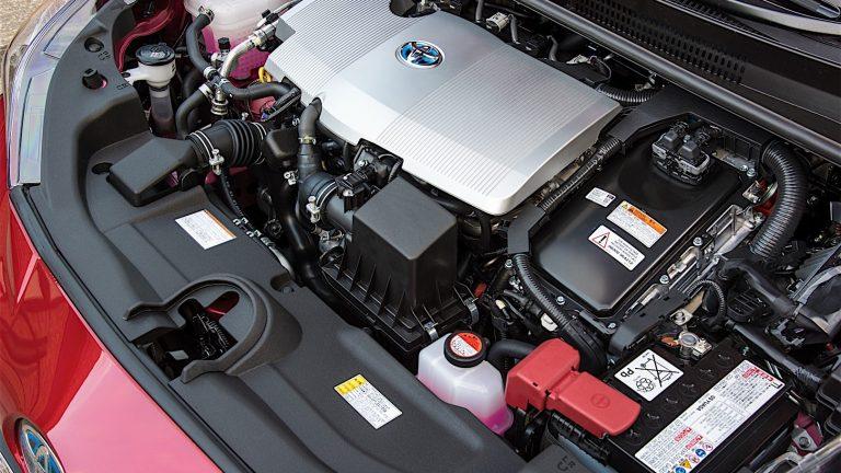 Foto del motore di Toyota Prius Plug-In Hybrid Prius Plug-In Hybrid Plug-in Hybrid
